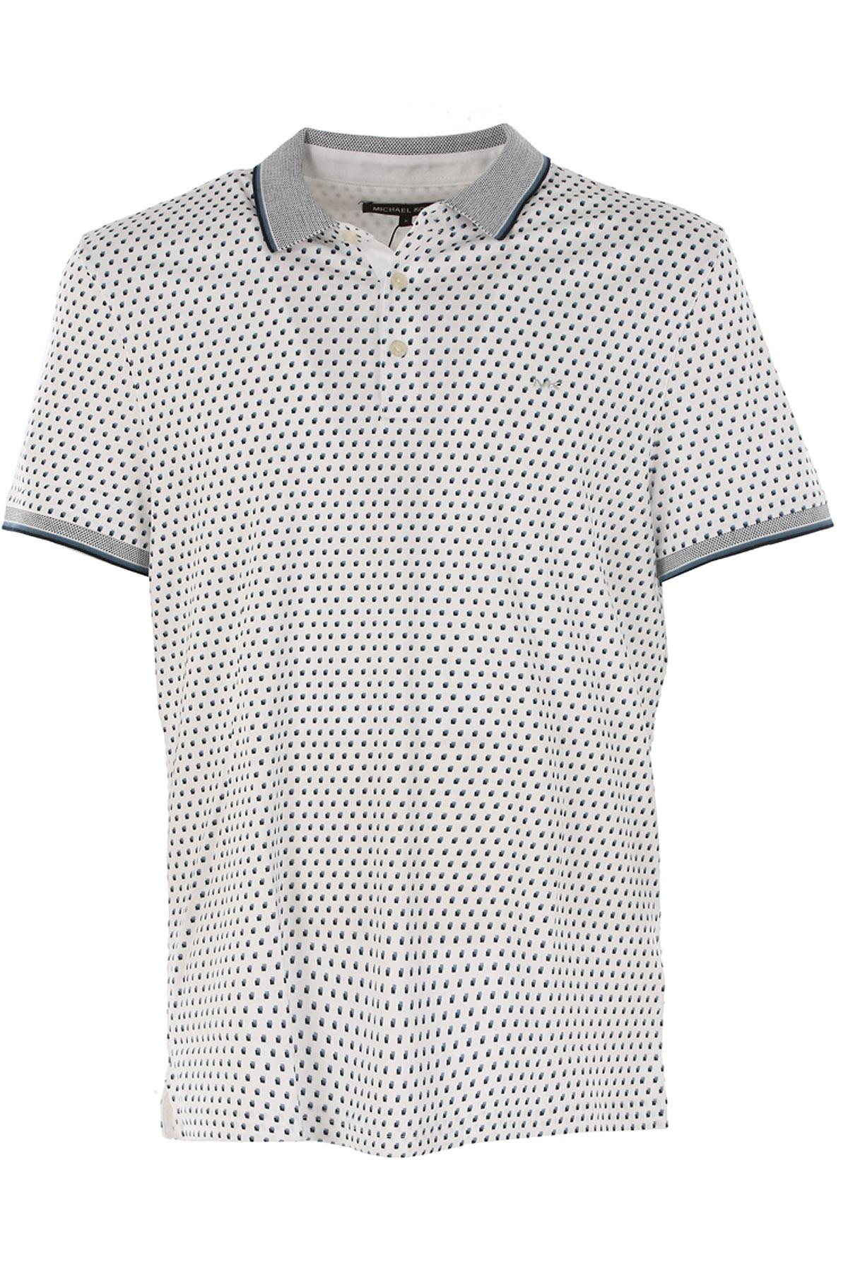 Lyst Michael Kors Polo Shirt For Men On Sale In Outlet In White