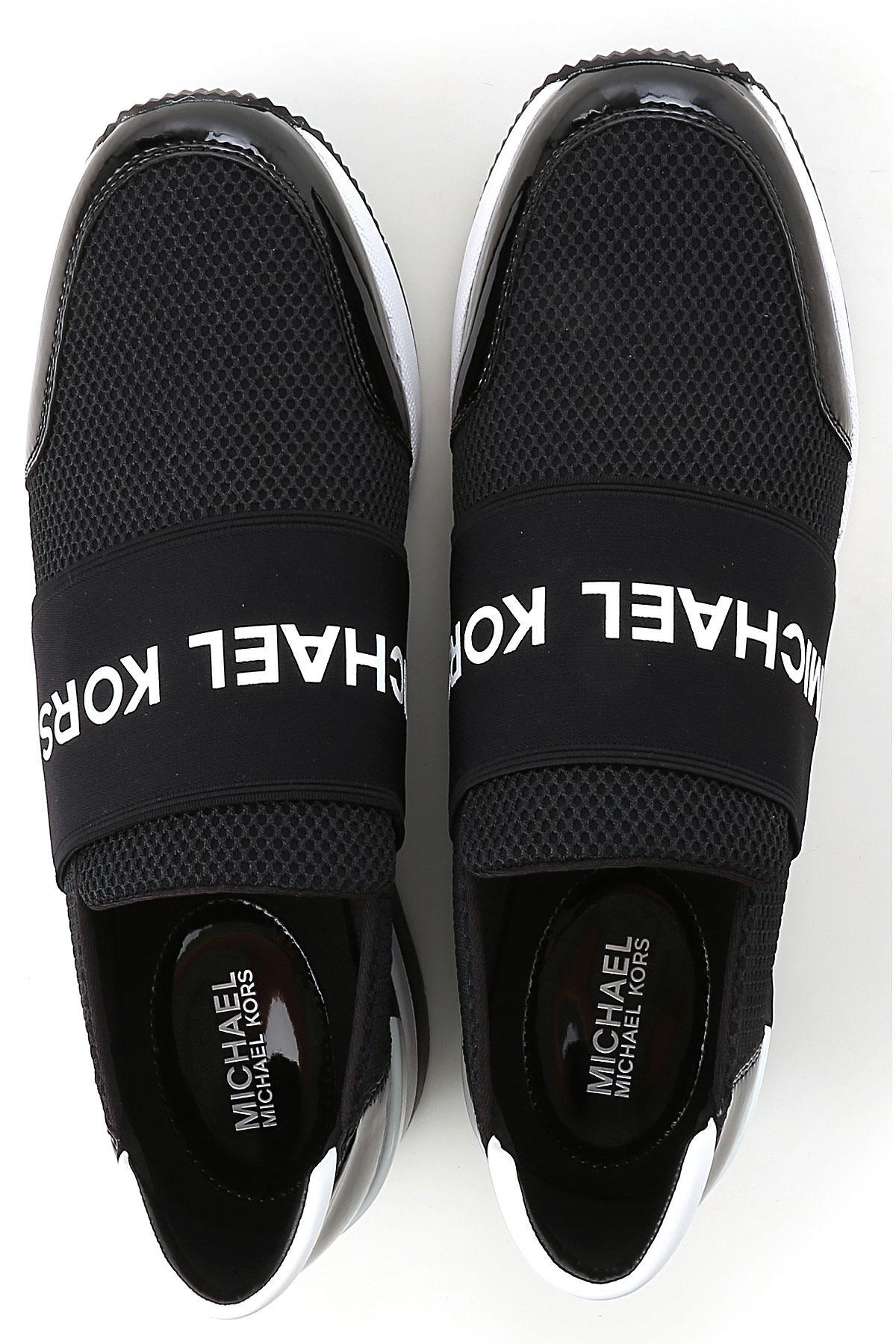 c8fef2bdcca Lyst - Sneaker Femme Pas cher en Soldes Michael Kors en coloris Noir