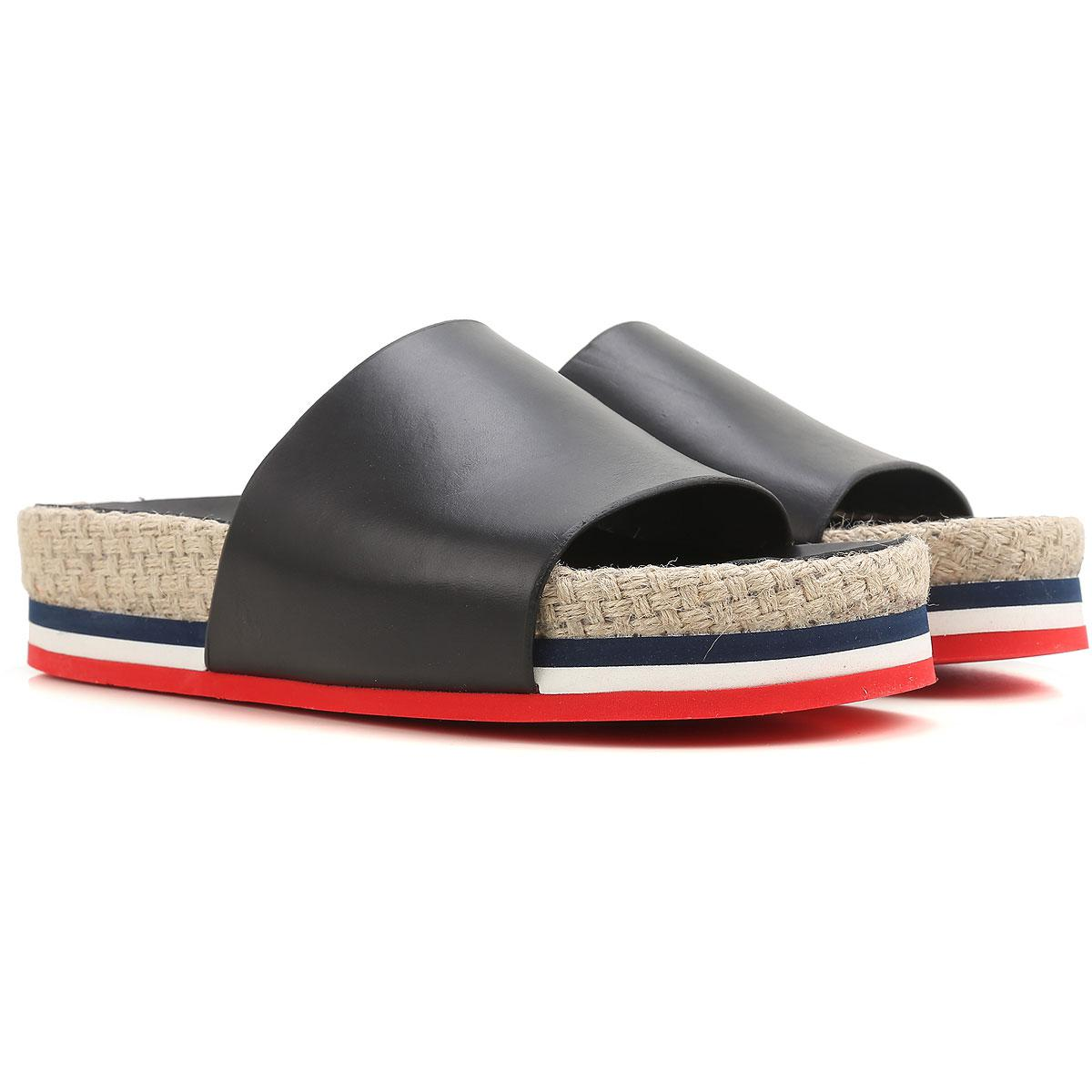 506abfdea84a Lyst - Moncler Sandals For Women On Sale In Outlet in Black - Save 31%