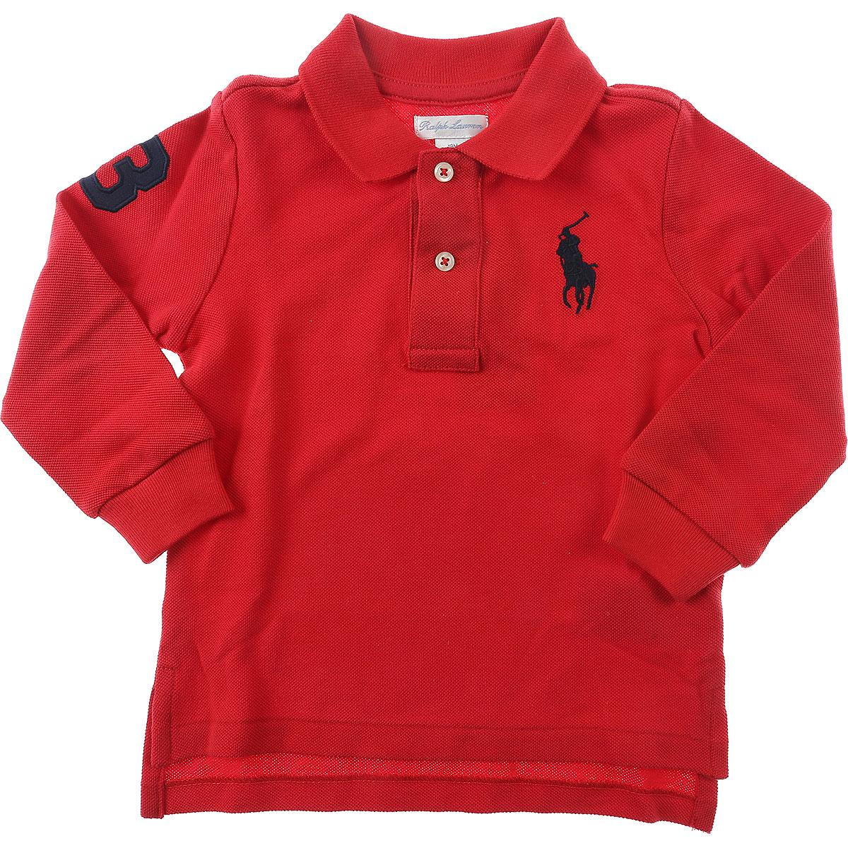 Lyst Ralph Lauren Baby Polo Shirt For Boys On Sale In Outlet In