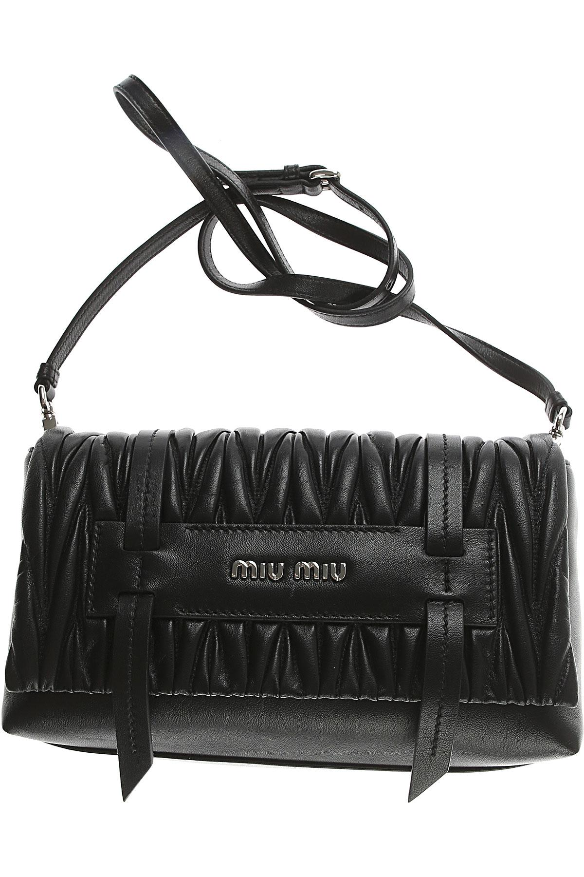85159f449165 Lyst - Miu Miu Shoulder Bag For Women On Sale in Black