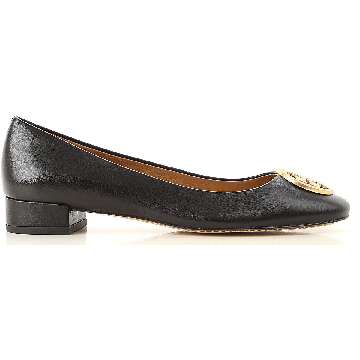 7b6a35affbe0 Tory Burch - Black Ballet Flats Ballerina Shoes For Women - Lyst. View  fullscreen