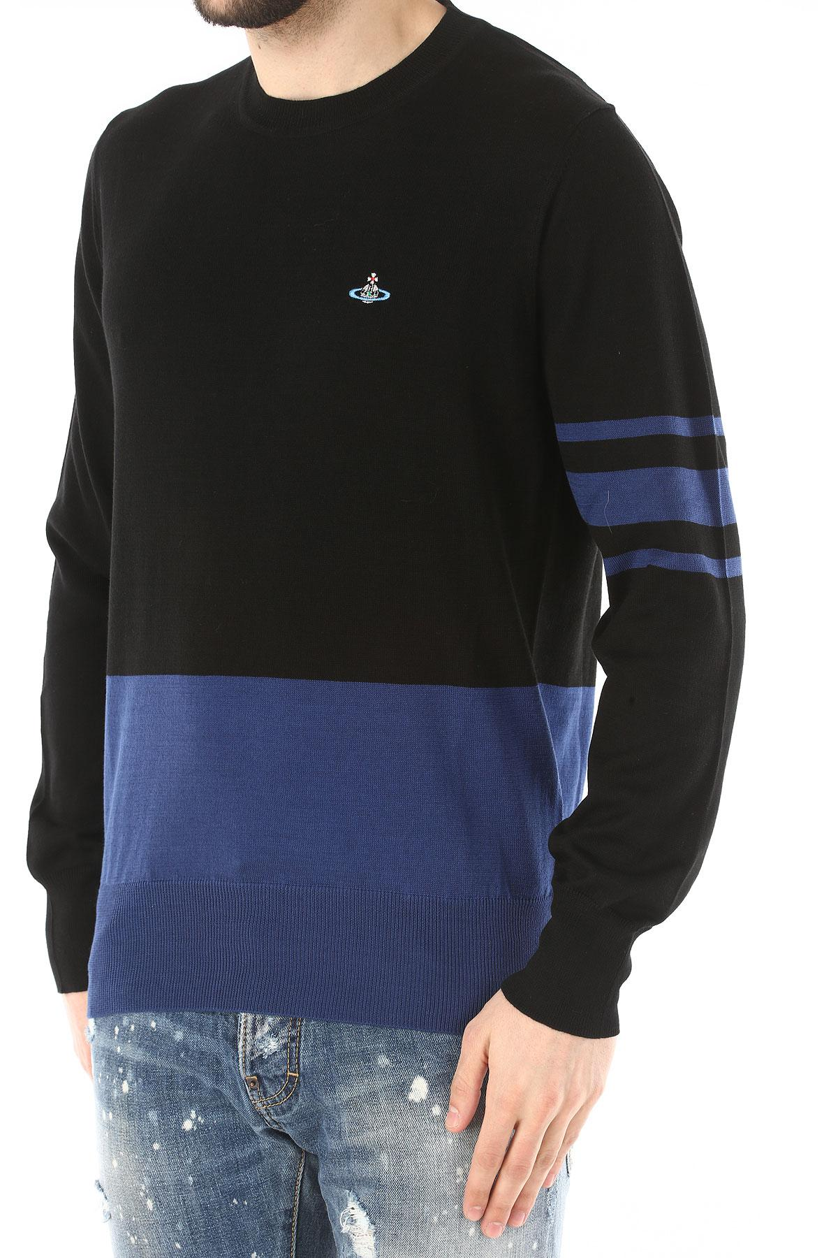 Vivienne Westwood - Blue Sweater For Men Jumper On Sale for Men - Lyst.  View fullscreen a71e3cd11