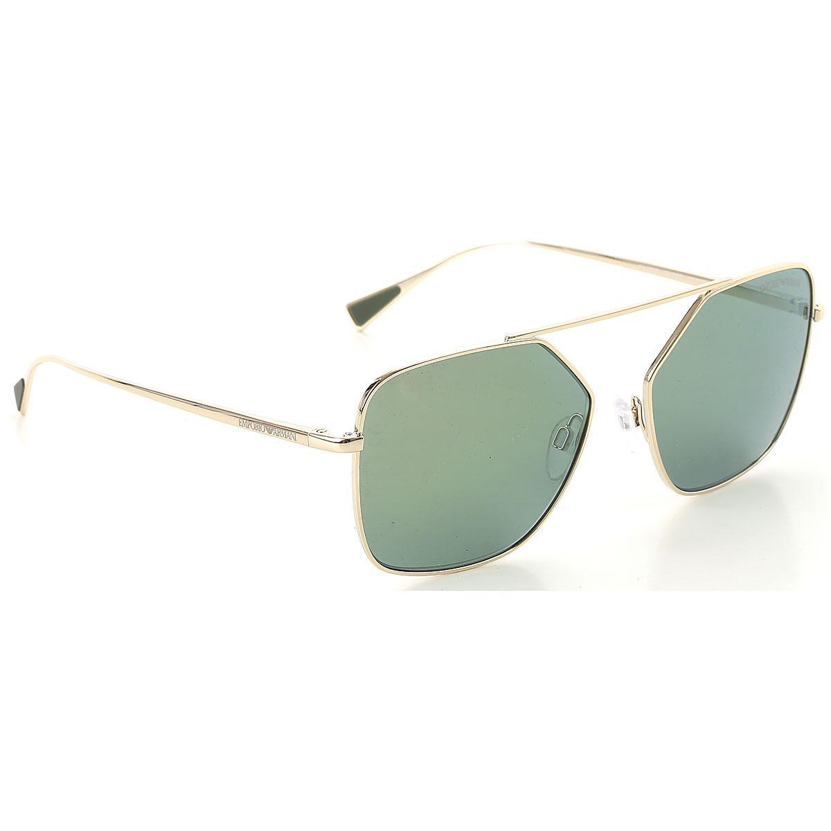 527c71a9437 Lyst - Emporio Armani Sunglasses On Sale in Metallic for Men