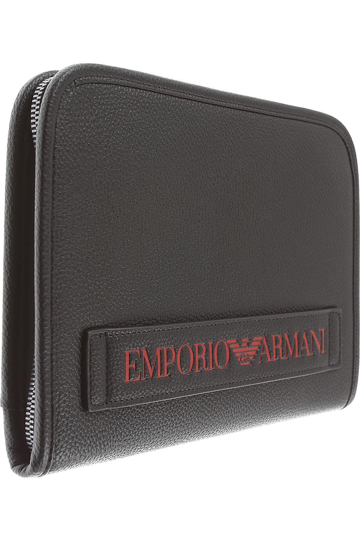 4fdb49ffb3 Lyst - Emporio Armani Wallet For Men in Black for Men