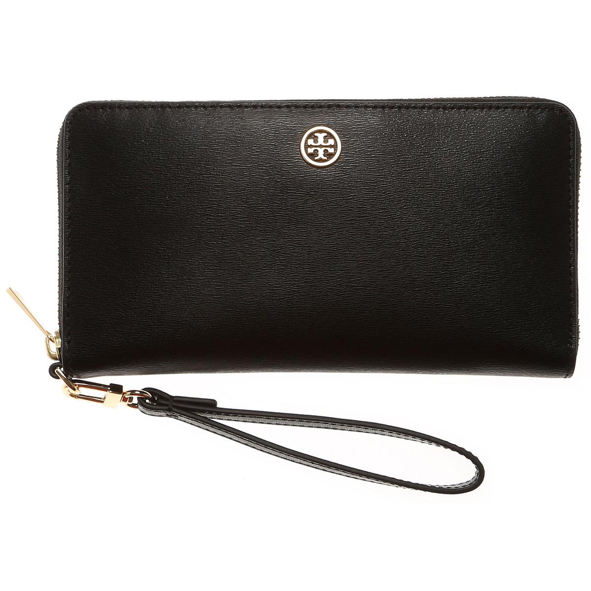 Lyst - Tory Burch Wallet For Women On Sale in Black 109a604a63