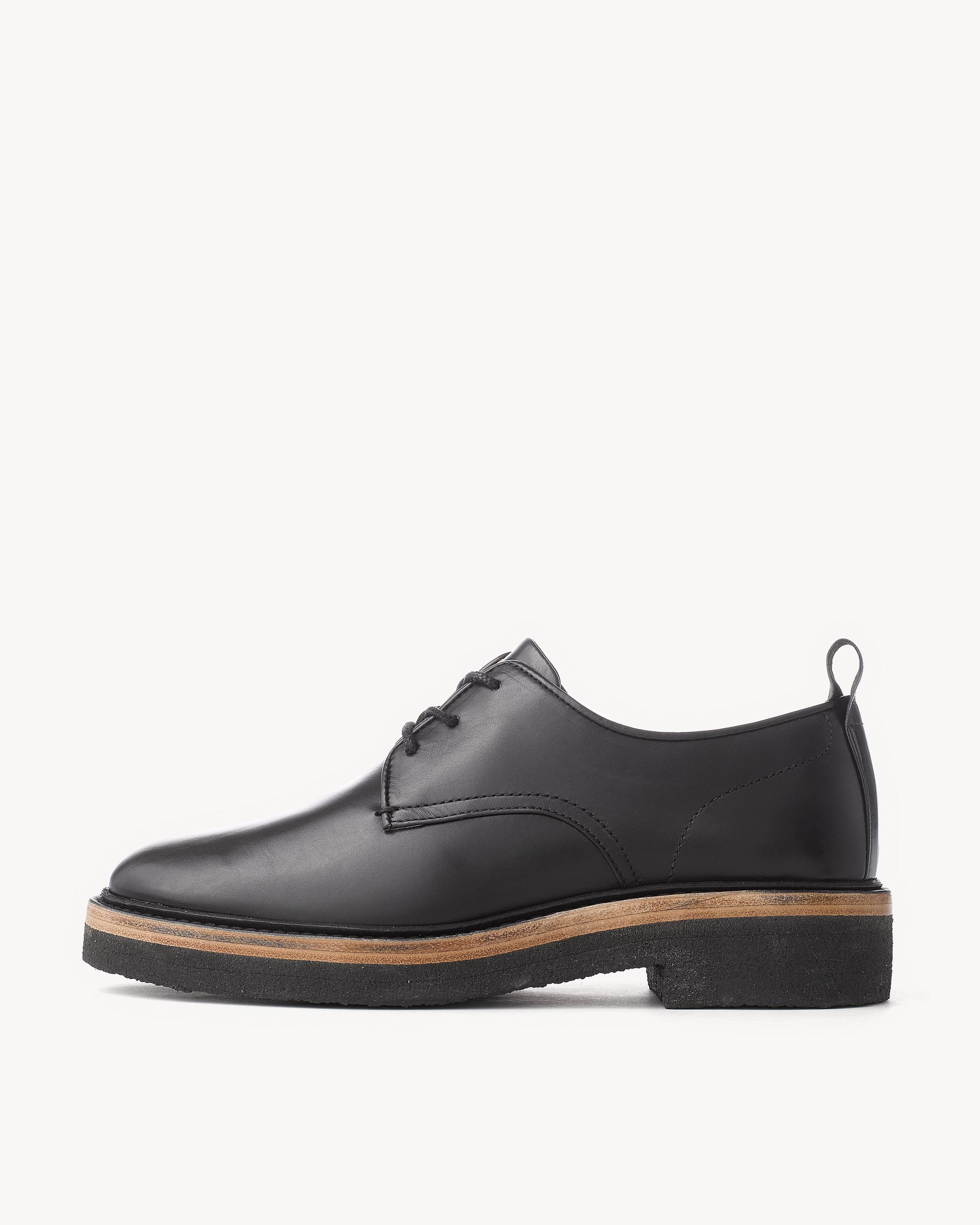 Rag & Bone Leather Laceless Oxfords outlet locations sale online JeqeVF