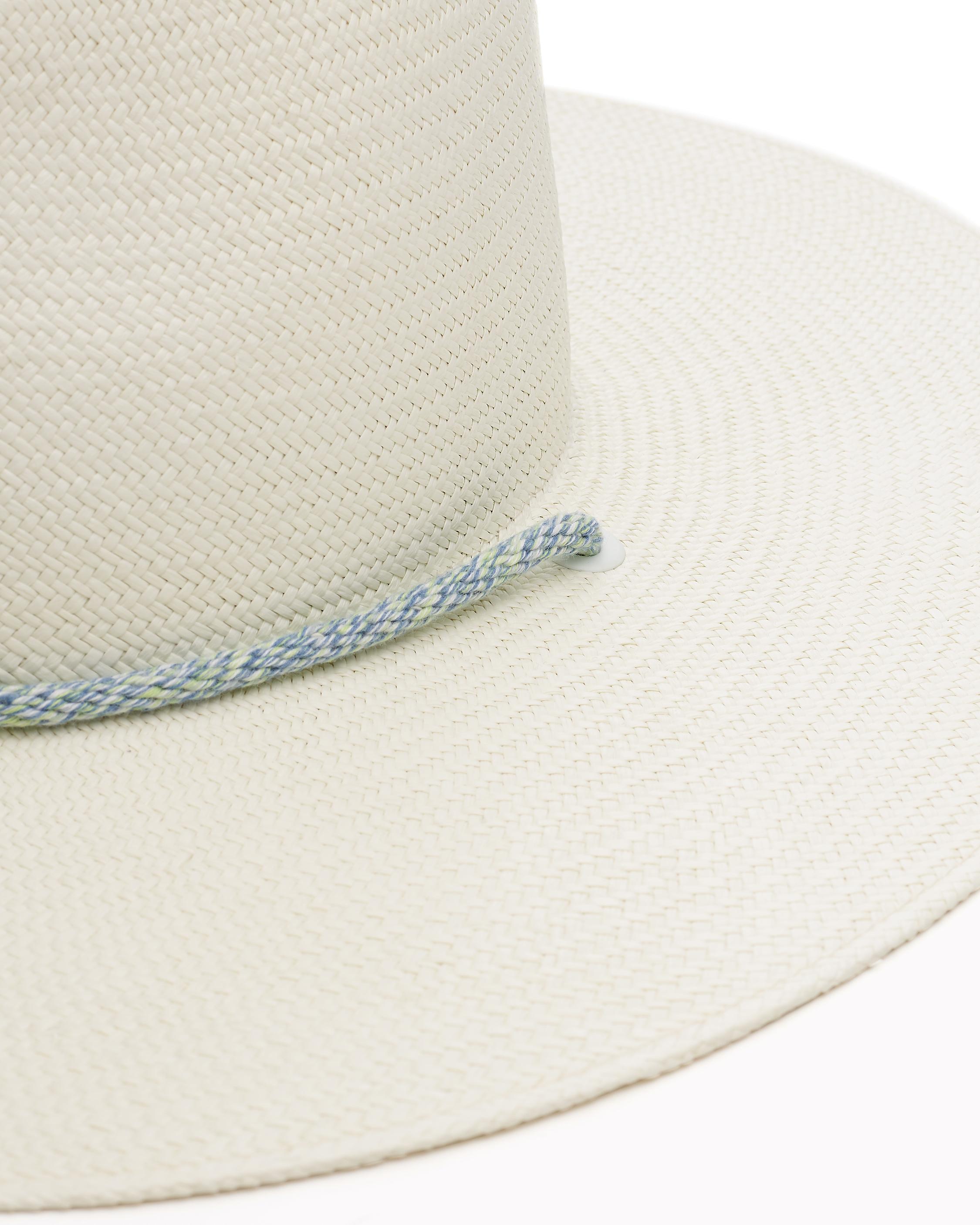 1b0b3482f75 Lyst - Rag   Bone Wide Brim Panama Hat in White