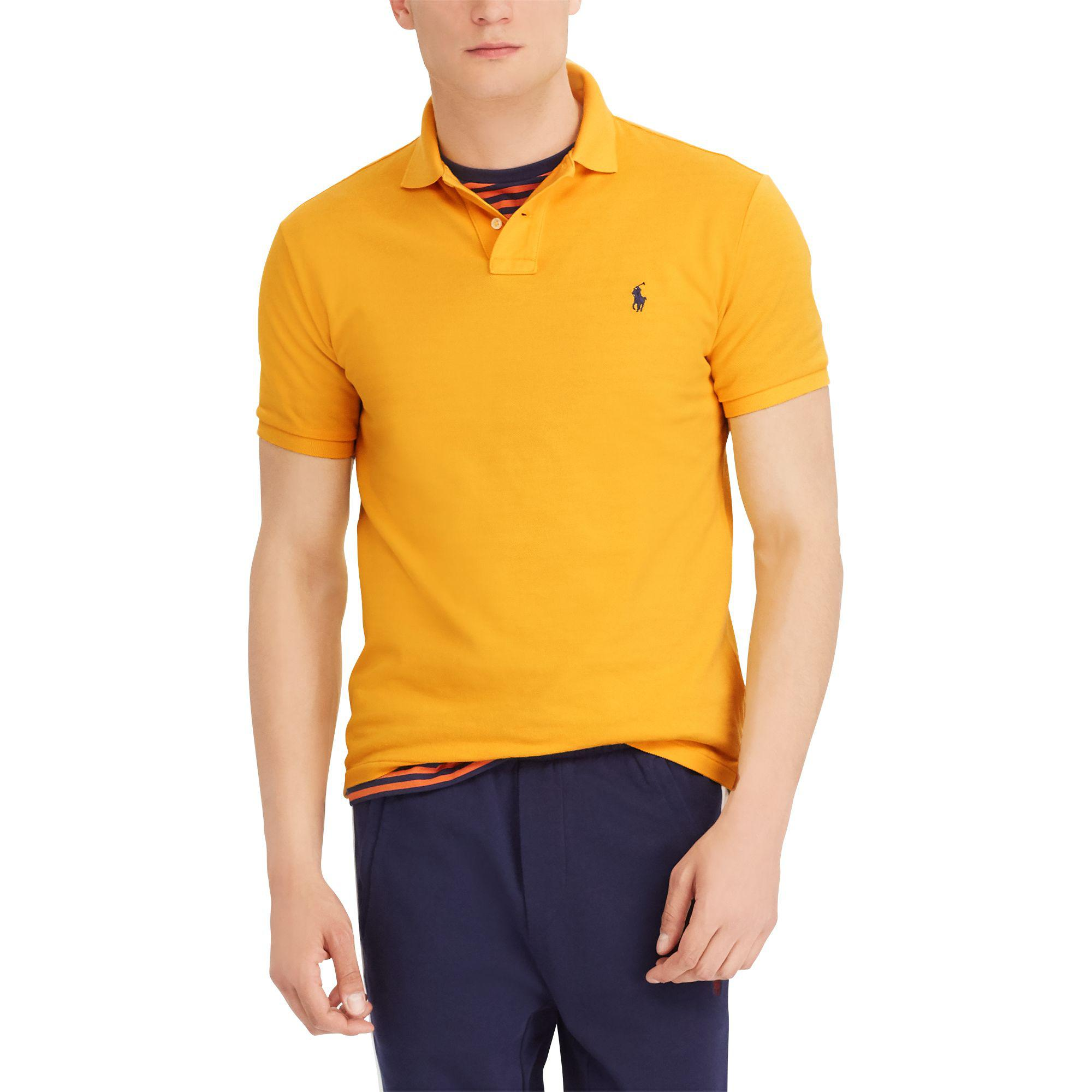 8744172c Polo Ralph Lauren - Multicolor Classic Fit Mesh Polo Shirt for Men - Lyst
