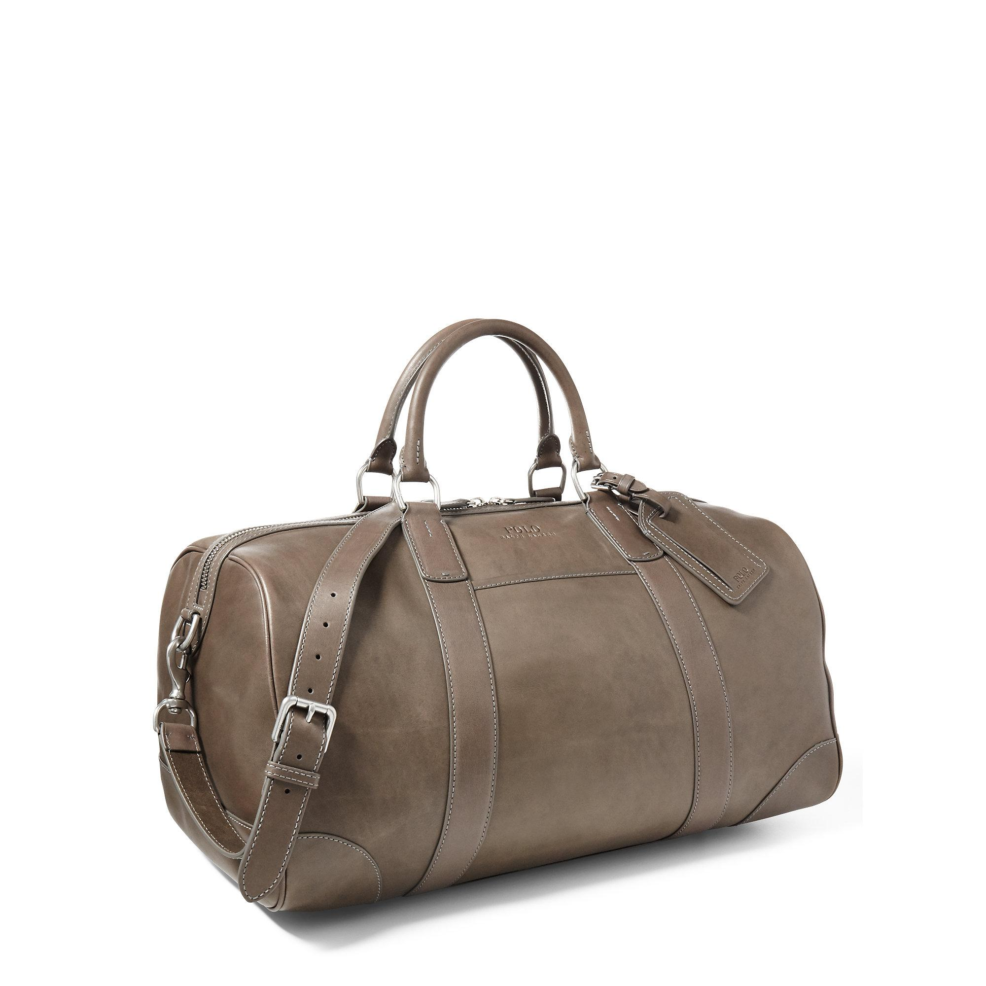 68324b4e2581 Polo Ralph Lauren Core Leather Duffle Bag