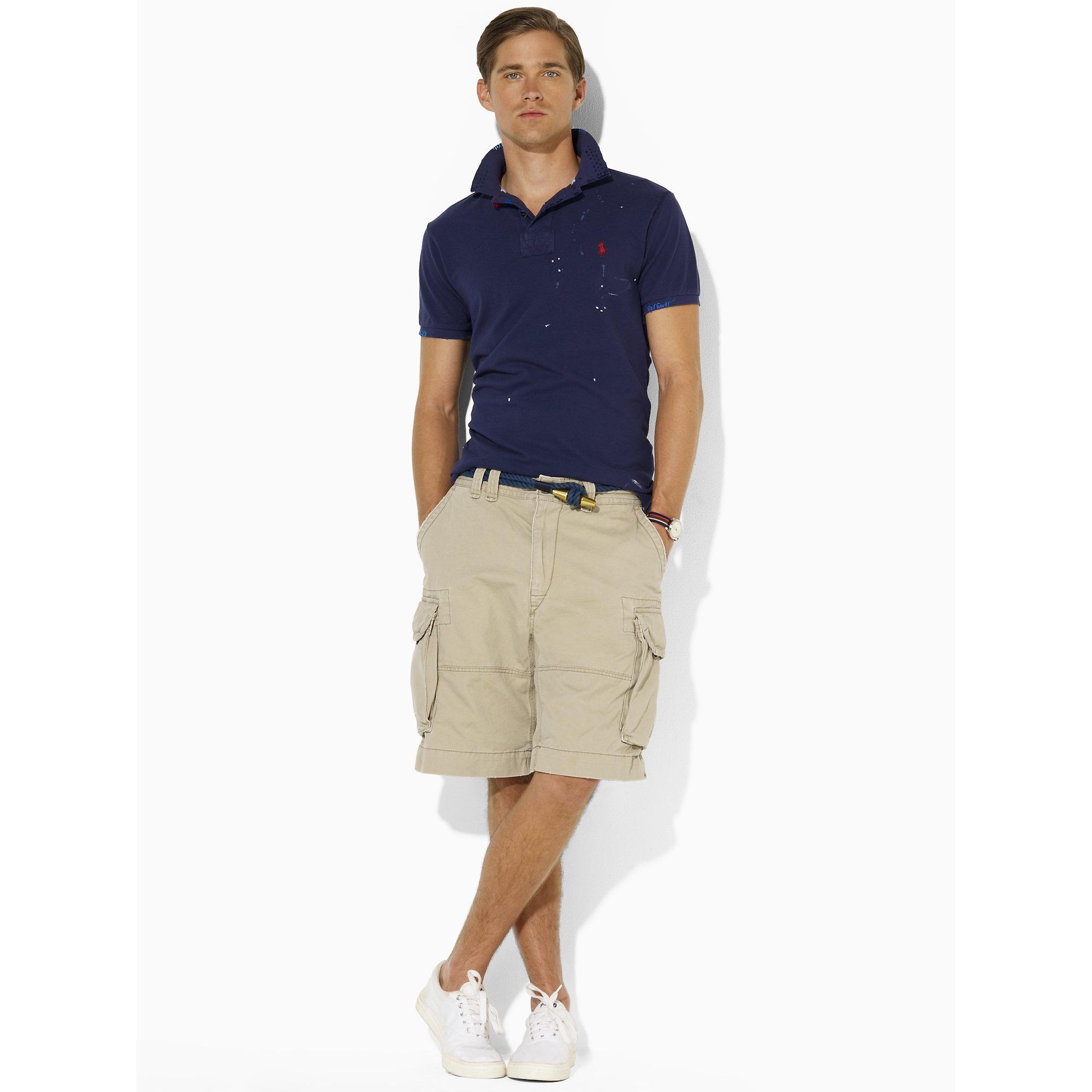 Polo ralph lauren Gellar Classic Cargo Short in Brown for Men   Lyst