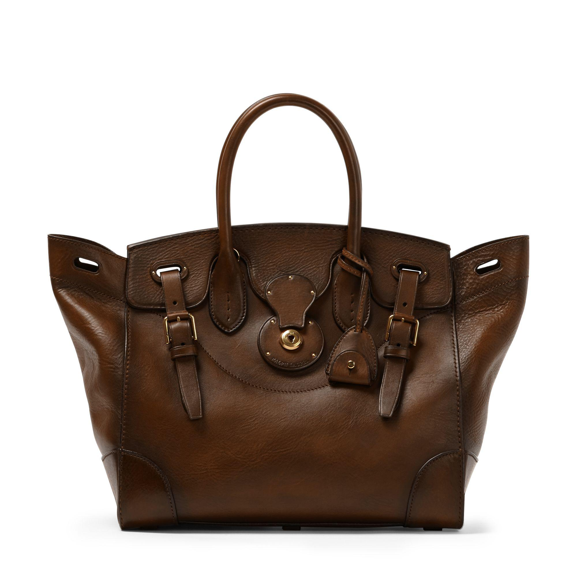 da449d872ea1 Lyst - Ralph Lauren Burnished Soft Ricky 33 in Brown