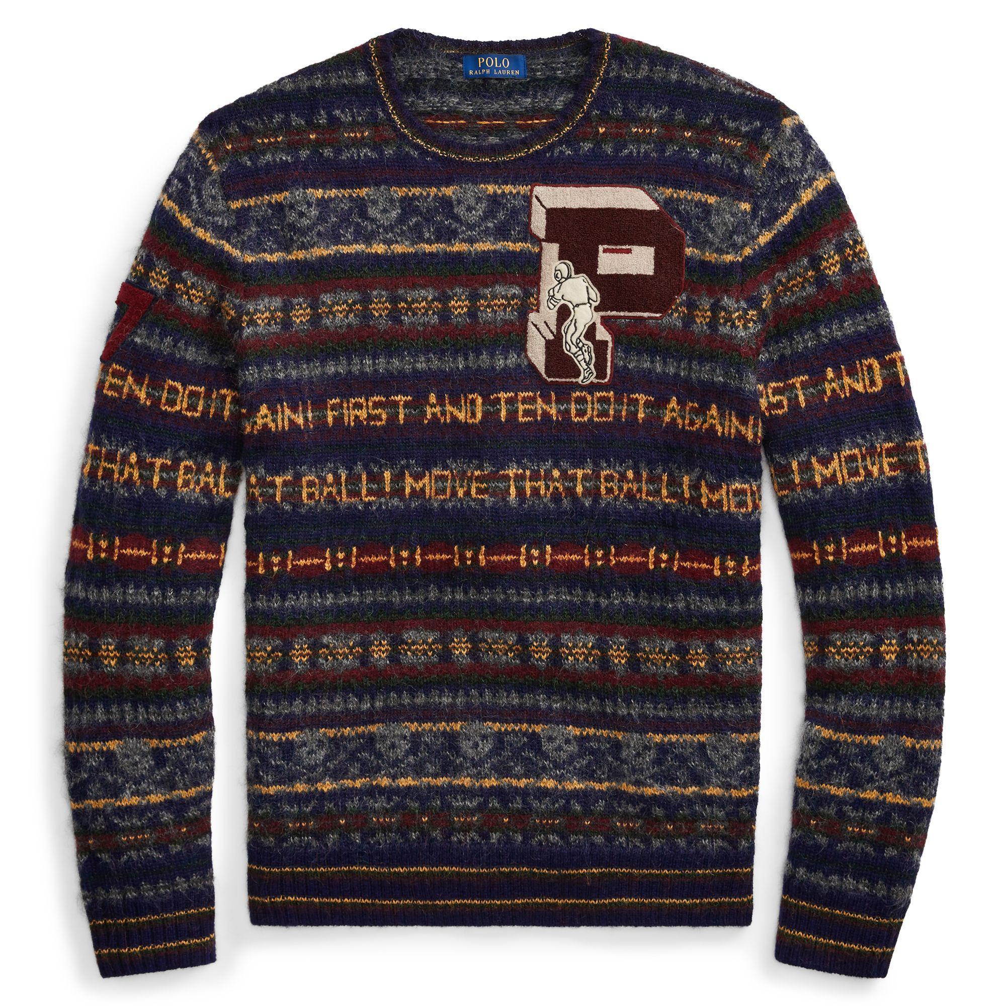 ed49d2f974 Polo Ralph Lauren Fair Isle Wool-blend Sweater in Blue for Men - Lyst