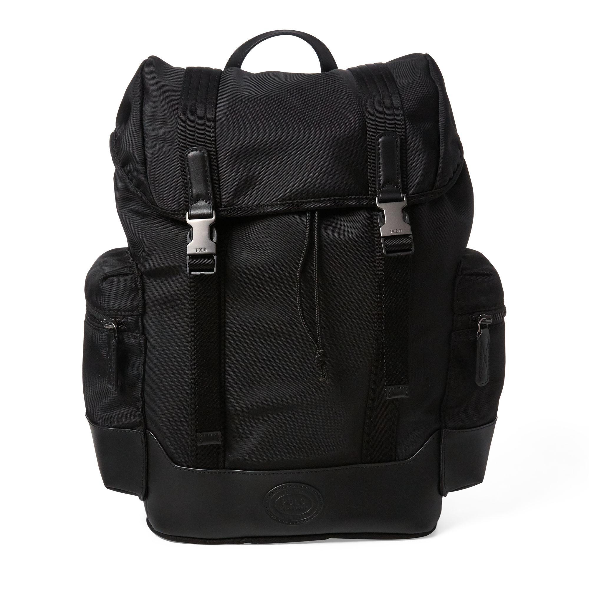 Polo Ralph Lauren Thompson Ii Backpack in Black for Men - Lyst ffe6c237916ae