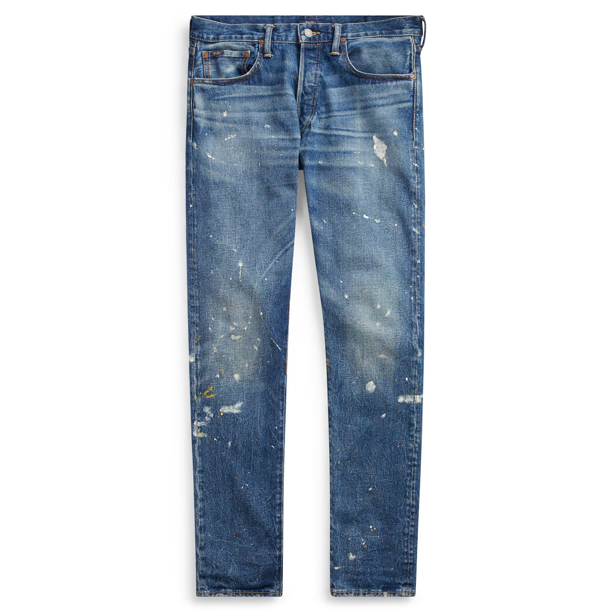 b7b104e882eb Polo Ralph Lauren Sullivan Slim Stretch Jean in Blue for Men - Lyst