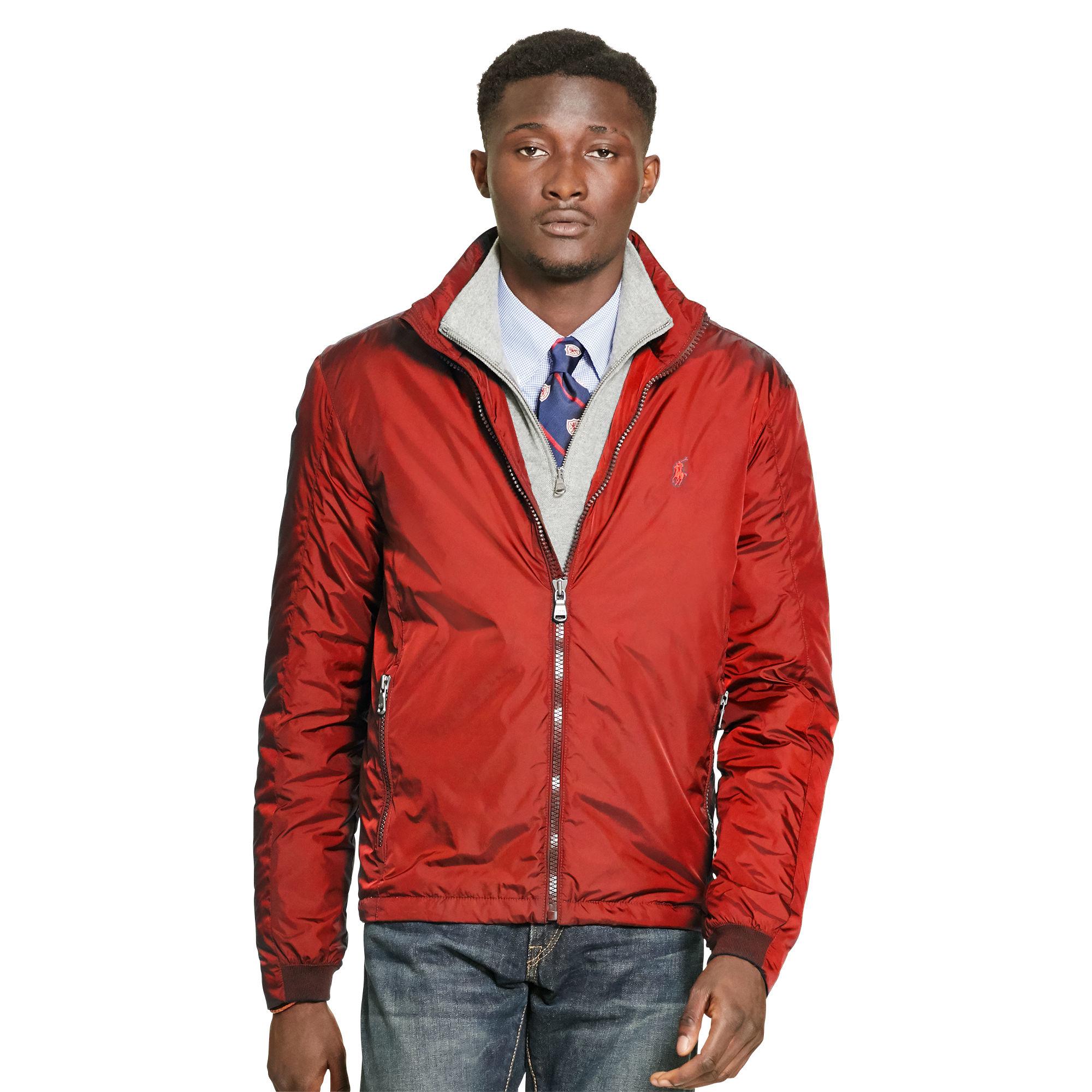 Ralph Lauren Olkalaukku : Polo ralph lauren stowaway hood jacket for men lyst