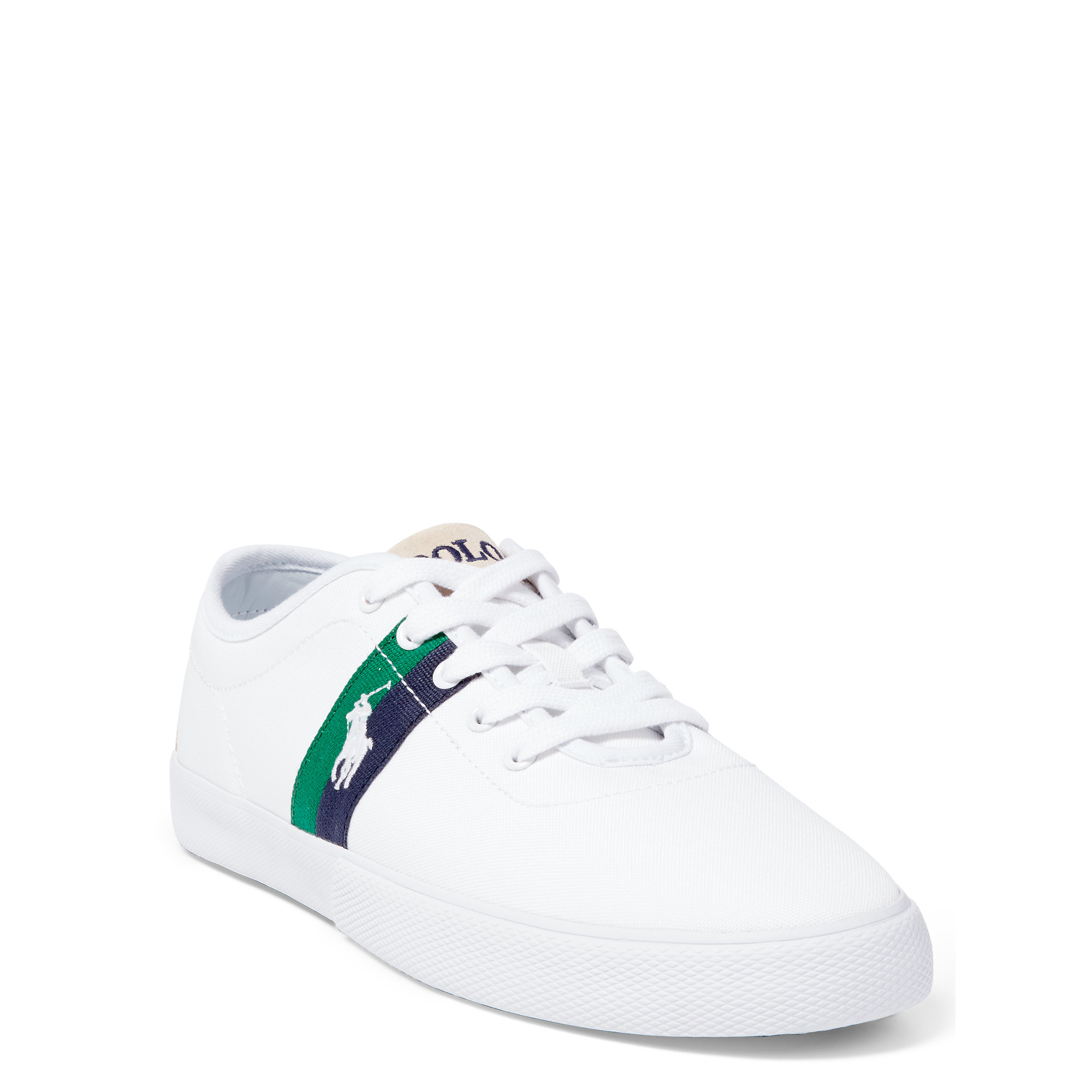 94be0773f1e2 Lyst - Polo Ralph Lauren Halford Cordura Canvas Sneaker in White for Men