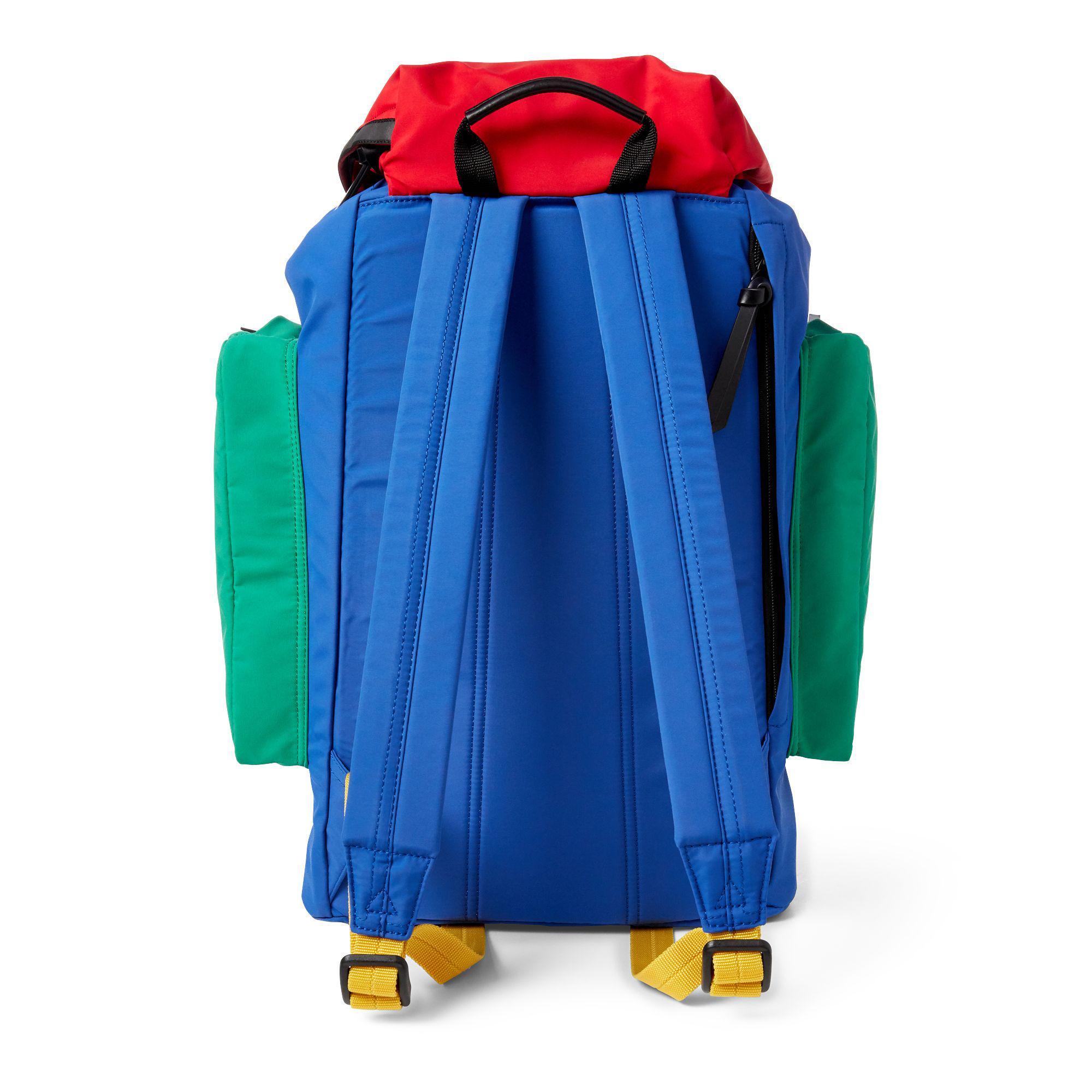 3e52a5560965 Lyst - Polo Ralph Lauren Hi Tech Backpack in Blue for Men