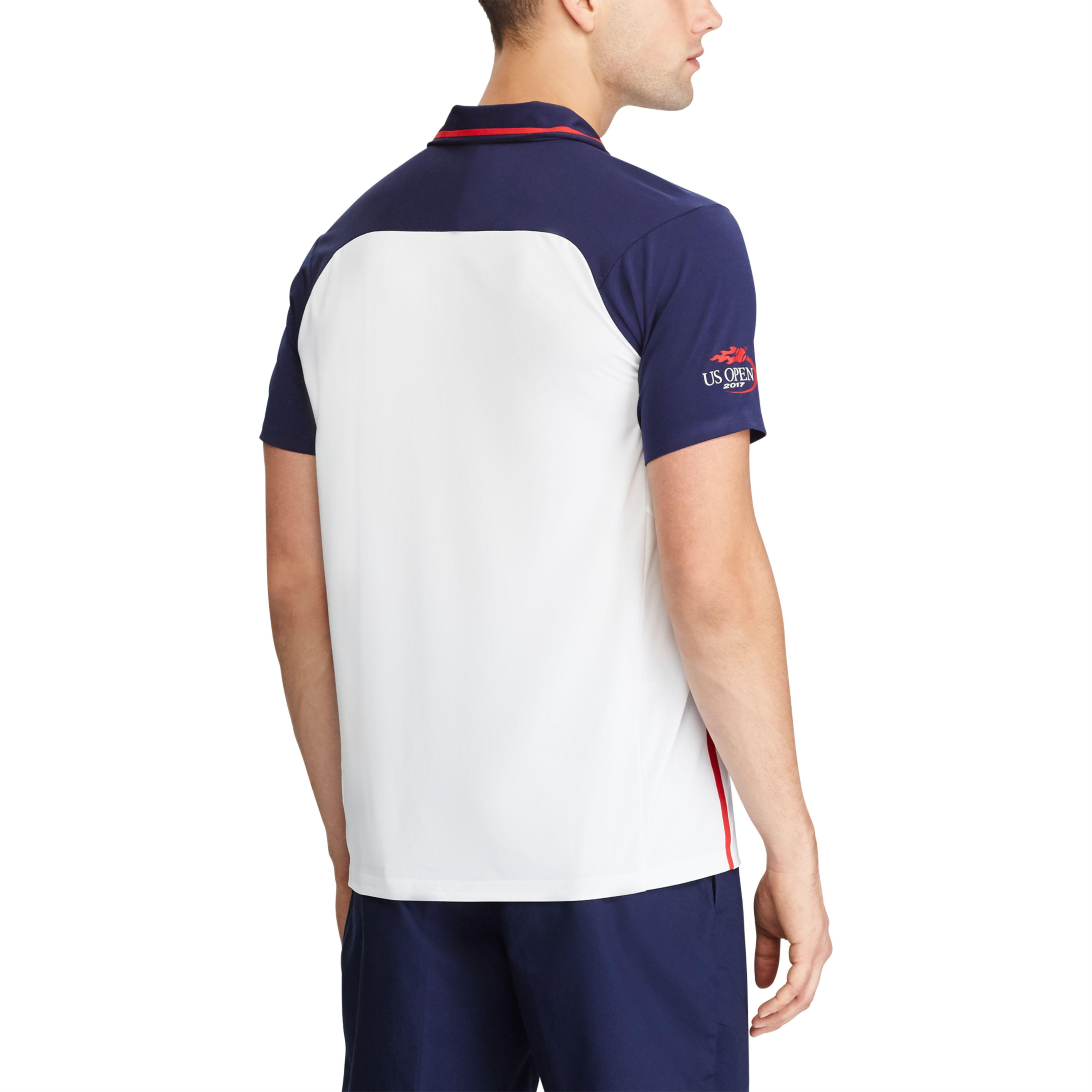e952114ef2d88 ... reduced lyst polo ralph lauren us open active fit polo shirt in blue  for men cf935 ...