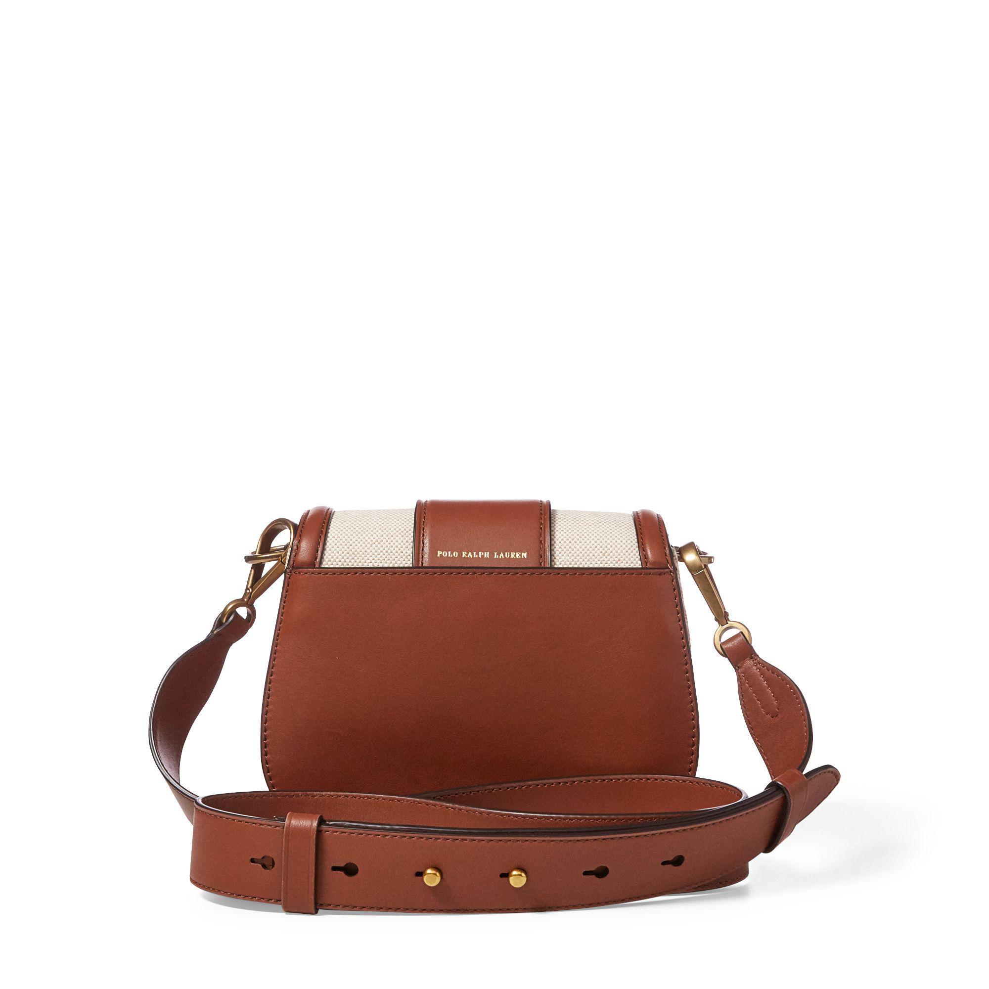 Polo Ralph Lauren Wood-buckle Lennox Bag in Brown - Lyst 82f97249c9