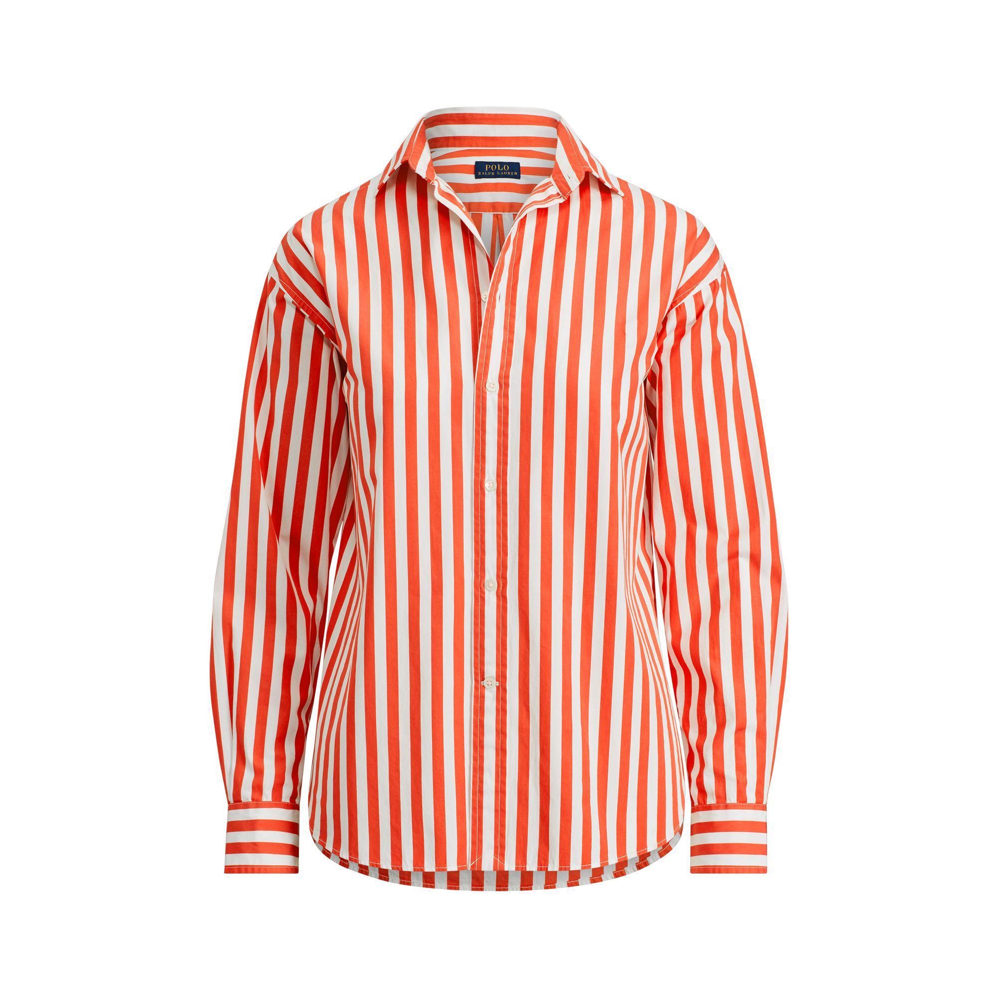 Lyst - Polo Ralph Lauren Bengal-stripe Cotton Shirt in Red c4319e01a36
