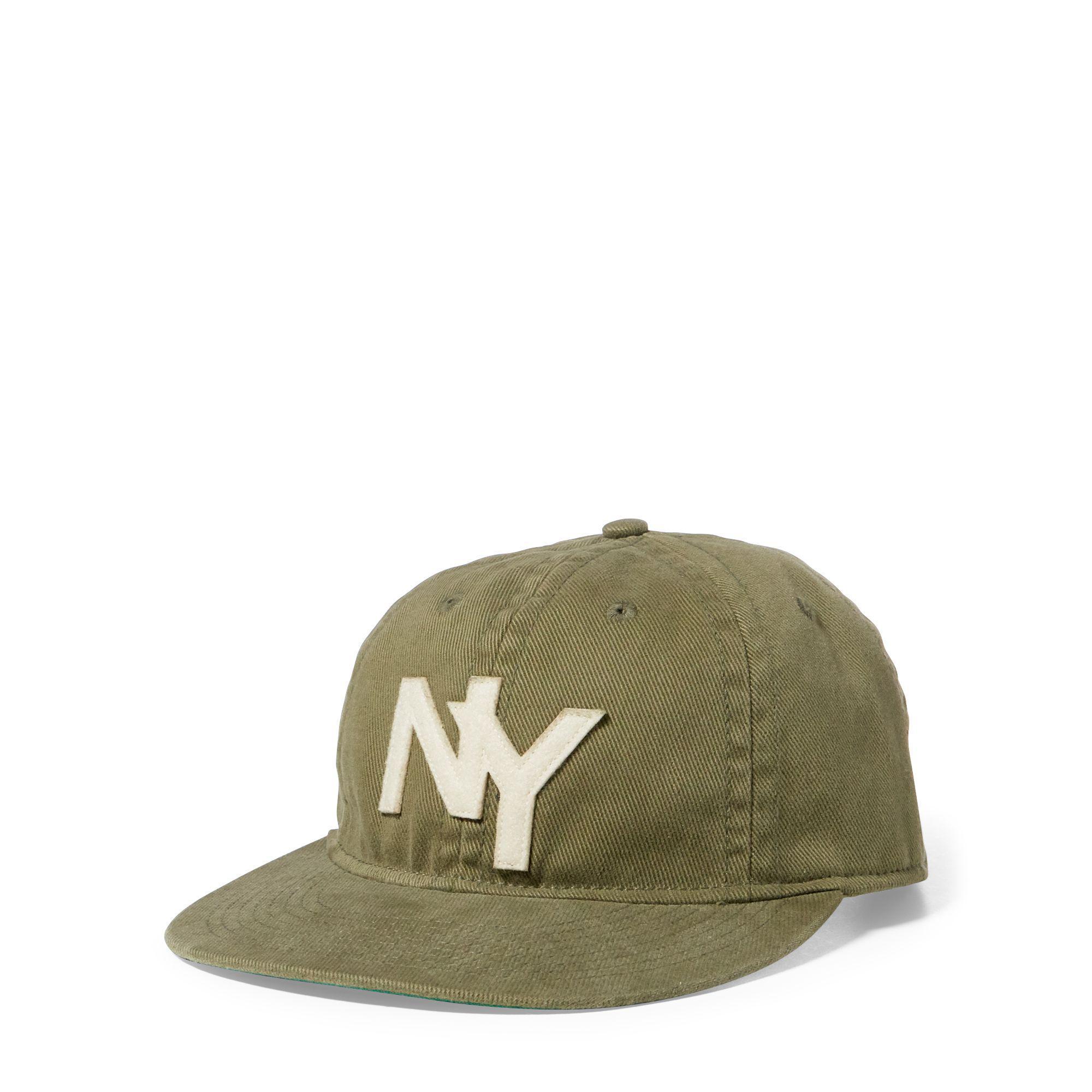 241fcdedddc01 Polo Ralph Lauren Cotton Baseball Cap in Green for Men - Lyst