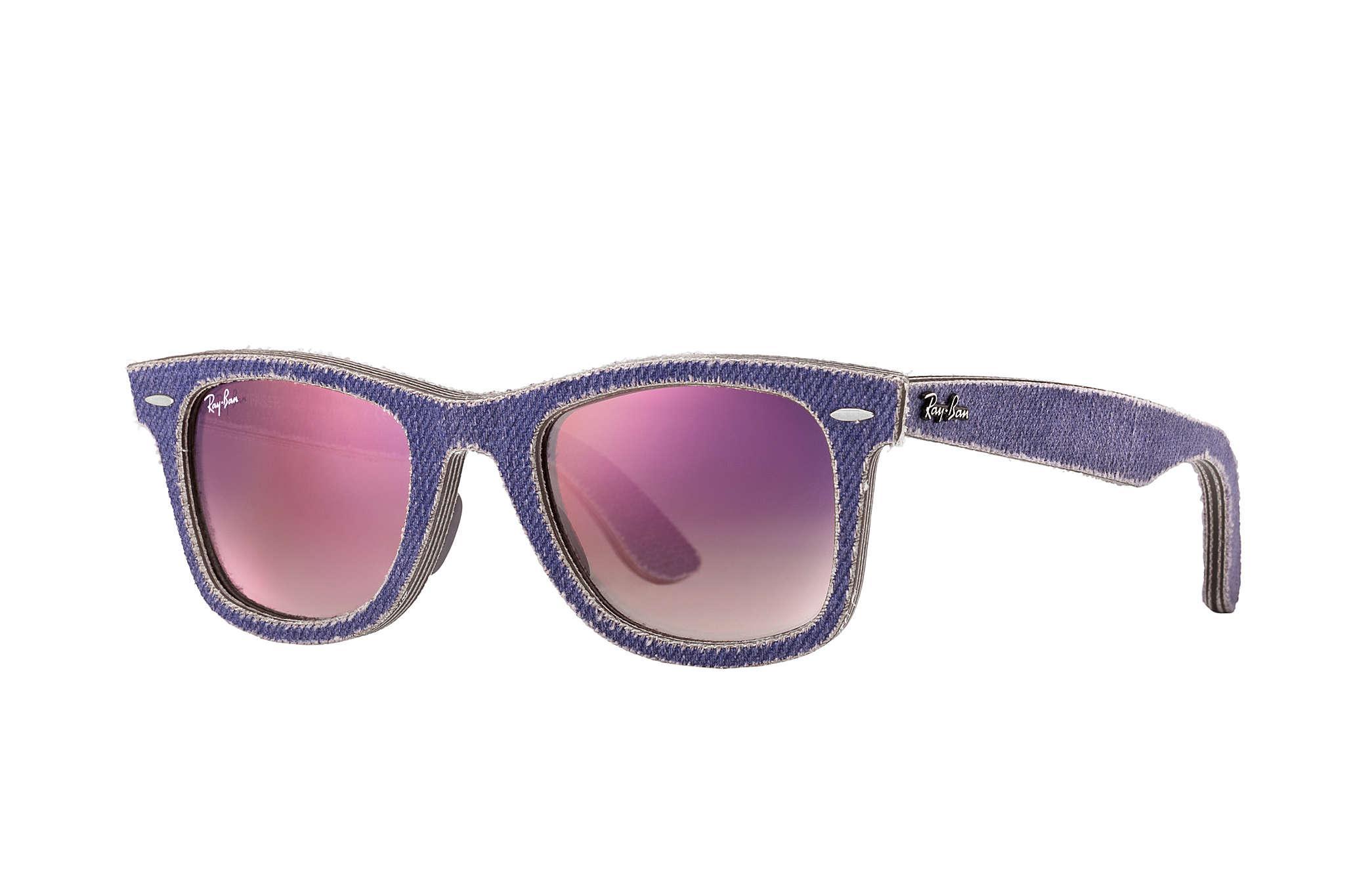 2044e86231c Ray-Ban Original Wayfarer Denim in Purple - Lyst