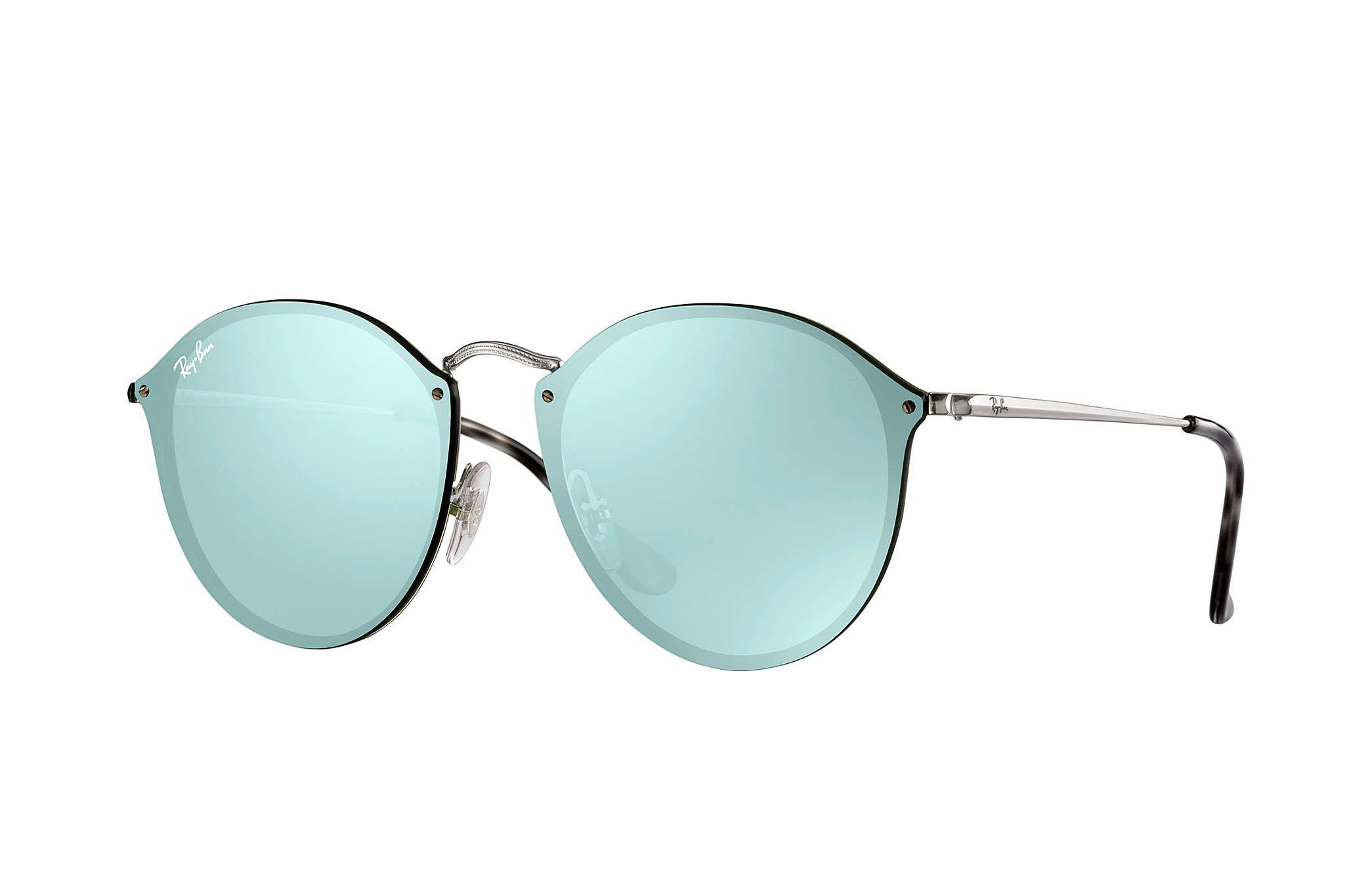 2df7706bad Lyst - Ray-Ban Blaze Round in Green for Men - Save 2%