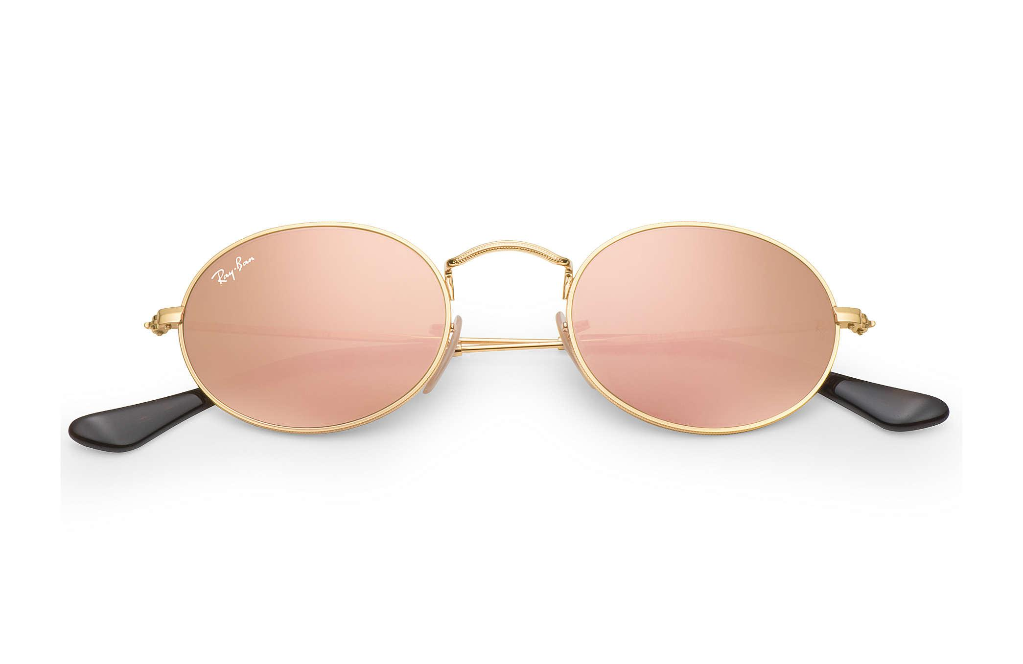 668331a982a Ray-Ban - Multicolor Oval Flat Lenses - Lyst. View fullscreen