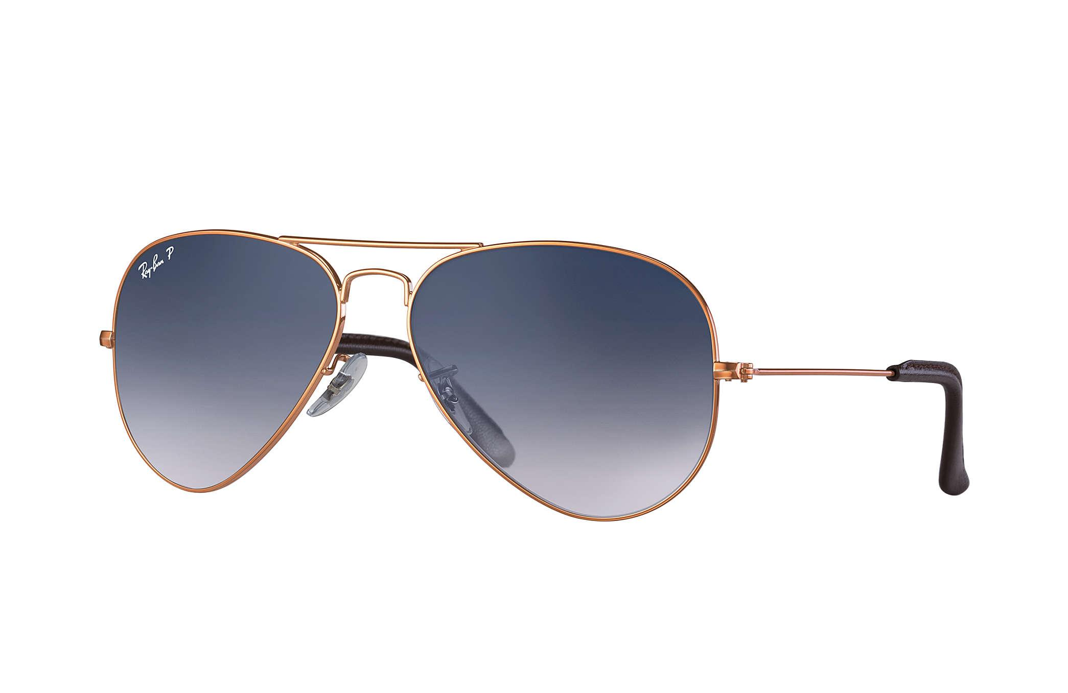 875fea88ead Lyst - Ray-Ban Aviator  collection in Gray