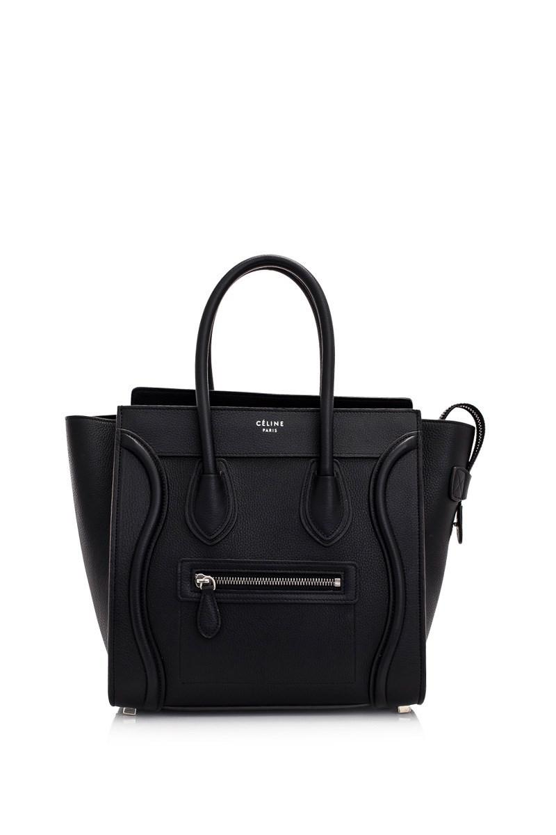 Lyst - Céline Céline Micro Luggage in Black b0c1137d1161e