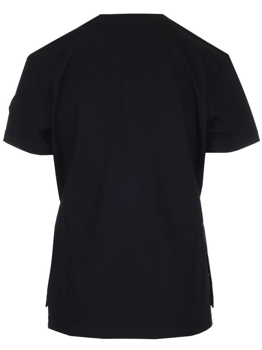 8908aa725c98 Lyst - Moncler Genius T-shirt Fw18 6 Noir Kei Ninomiya Rib-knitted T ...