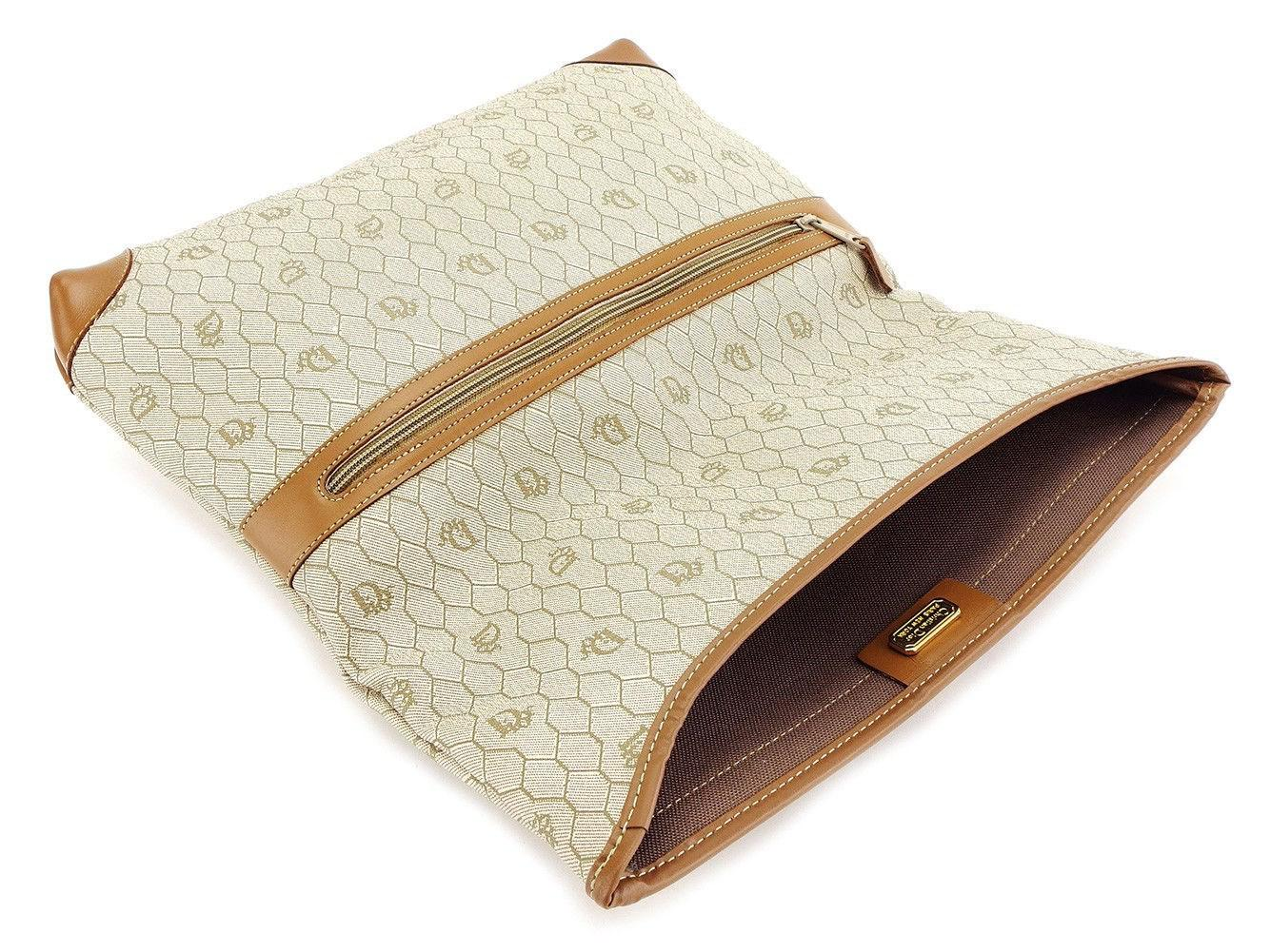 Lyst - Dior Clutch Bag Ladies Men  s Used T3215 in Natural 669ae4c11580c