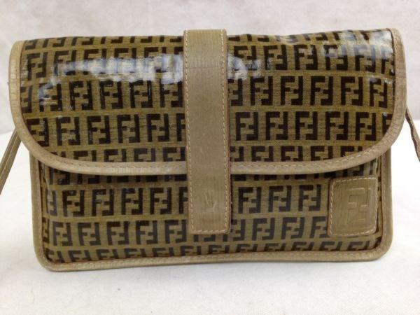 17a8c8c9c00 Lyst - Fendi Zucca Pattern Logos Shoulder Bag Made In Italy 5f162540 ...