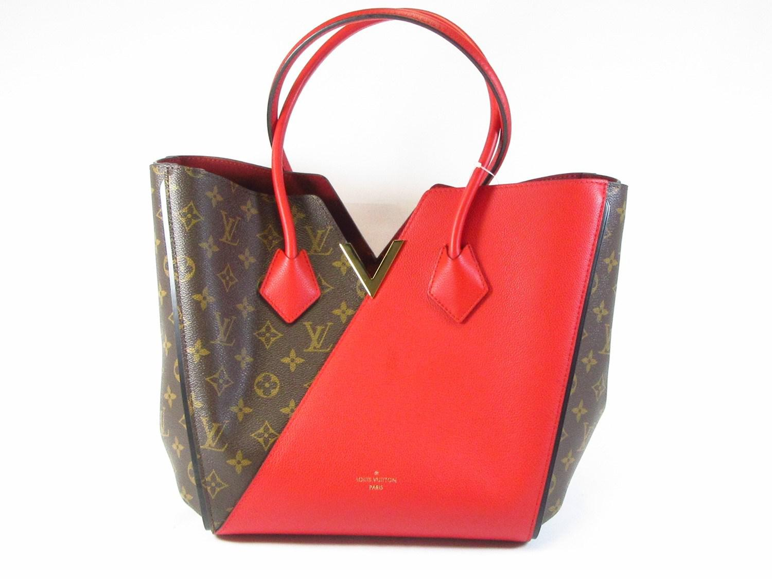 744d748028bb Lyst - Louis Vuitton Monogram Kimono Tote Bag Cerise M40459 in Red