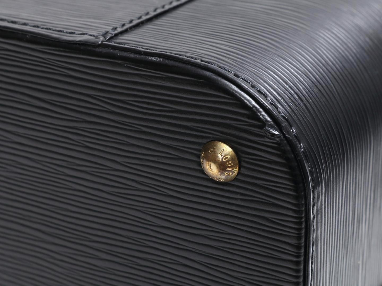 9d0de091d32a Lyst - Louis Vuitton Vanity Box Bag Black Epi Leather M48002 in Black
