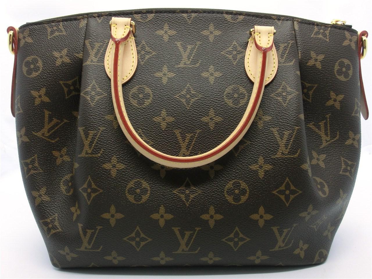 389a10c03a68 Lyst - Louis Vuitton Auth Monogram Canvas Turenne Mm Shopper Tote ...