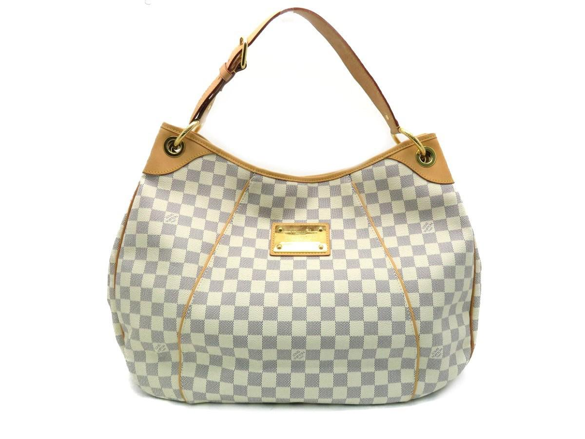 Lyst - Louis Vuitton Lv Galliera Pm Shoulder Bag Damier Azur White ... 0b5ec647de45f