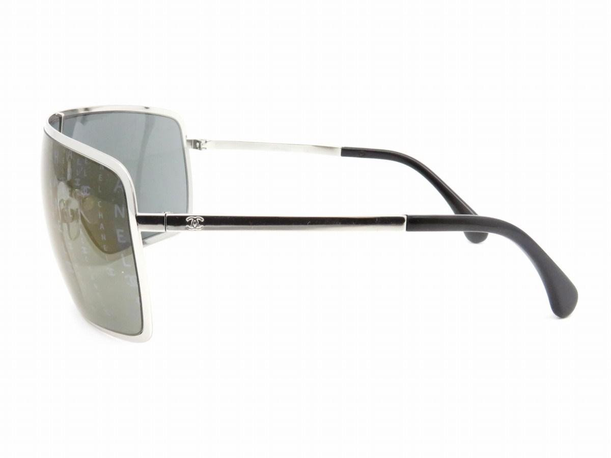 aed69ab23f7 Lyst - Chanel Sunglasses Grey  Silver Metal 5216 in Gray for Men
