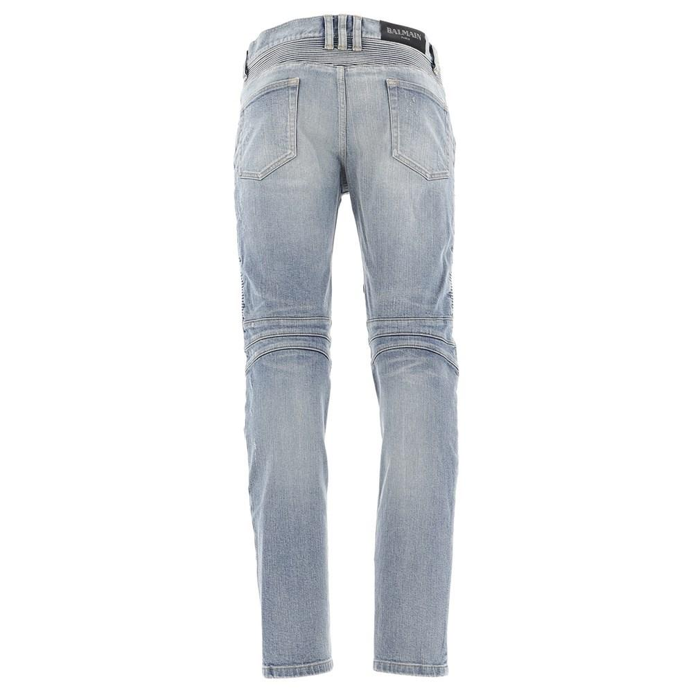 5bd13022794 Lyst - Balmain Denim 6ka Bleu Clair in Blue for Men