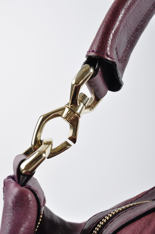 28e6b53874 Lyst - Givenchy Medium Lambskin Nightingale Plum Ma0143 in Purple