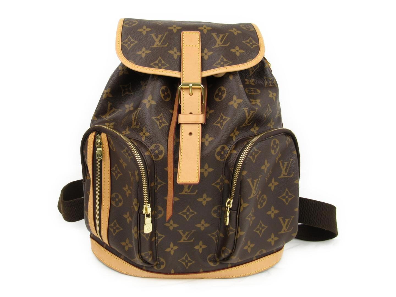 de7b4b7bd6f4a Louis Vuitton Sac Bosphore Backpack Bag Monogram Canvas Brown M40107 ...