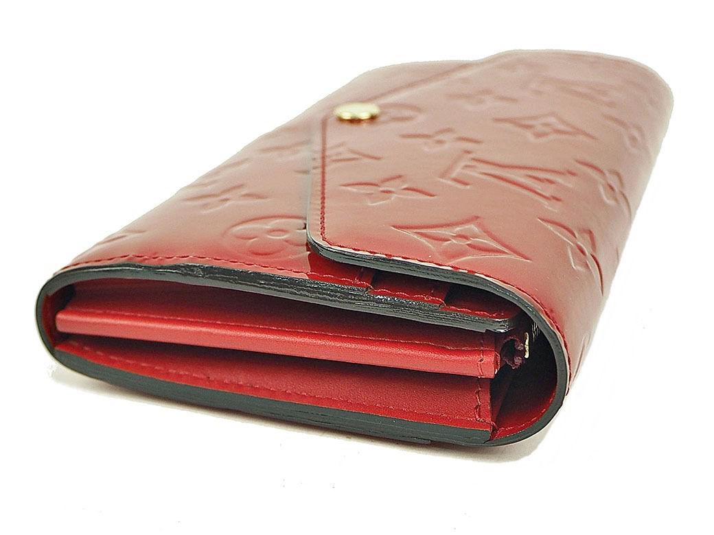 82733b8f4e3 Lyst - Louis Vuitton Purse Wallet Portefeuille Sarah Monogram Vernis ...
