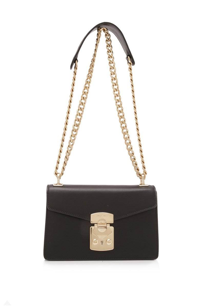 0c4964315dbd Lyst - Miu Miu City Calf Shoulder Bag in Black