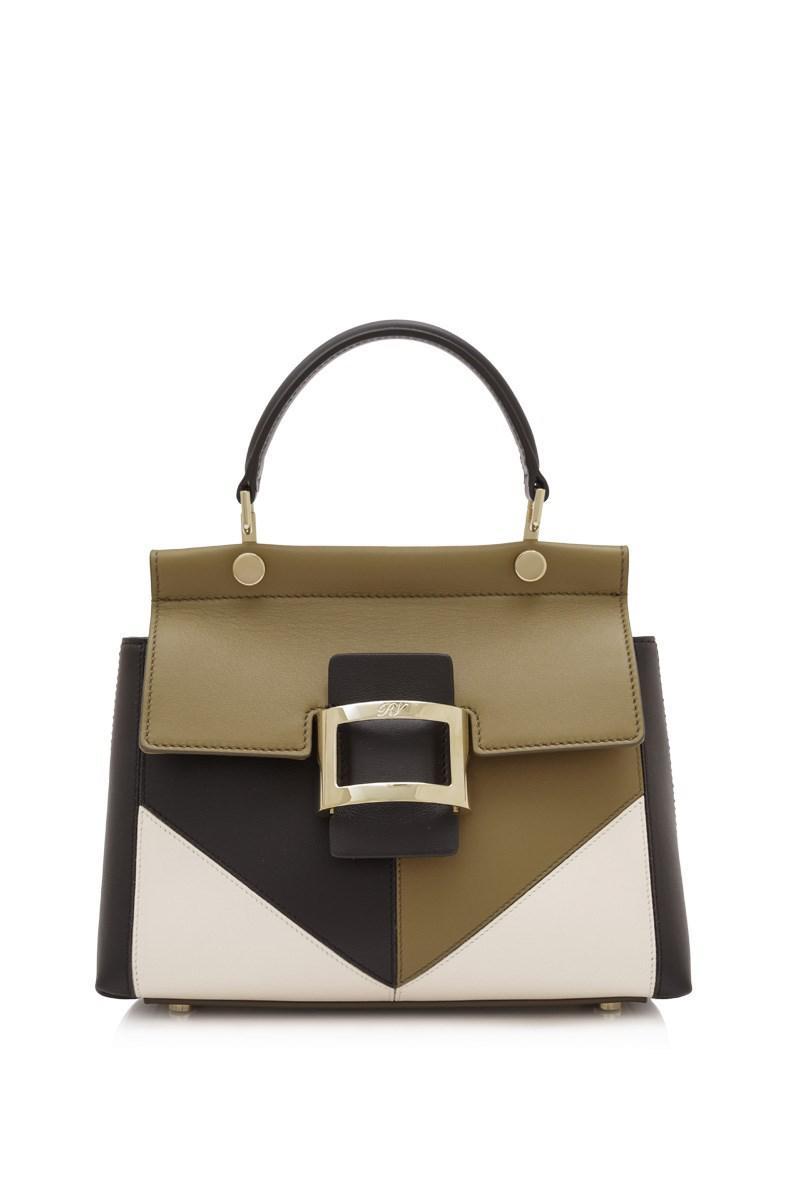 050a7eff3b16 Roger Vivier. Women s Viv  Patchwork Graphic Mini Cabas Bag