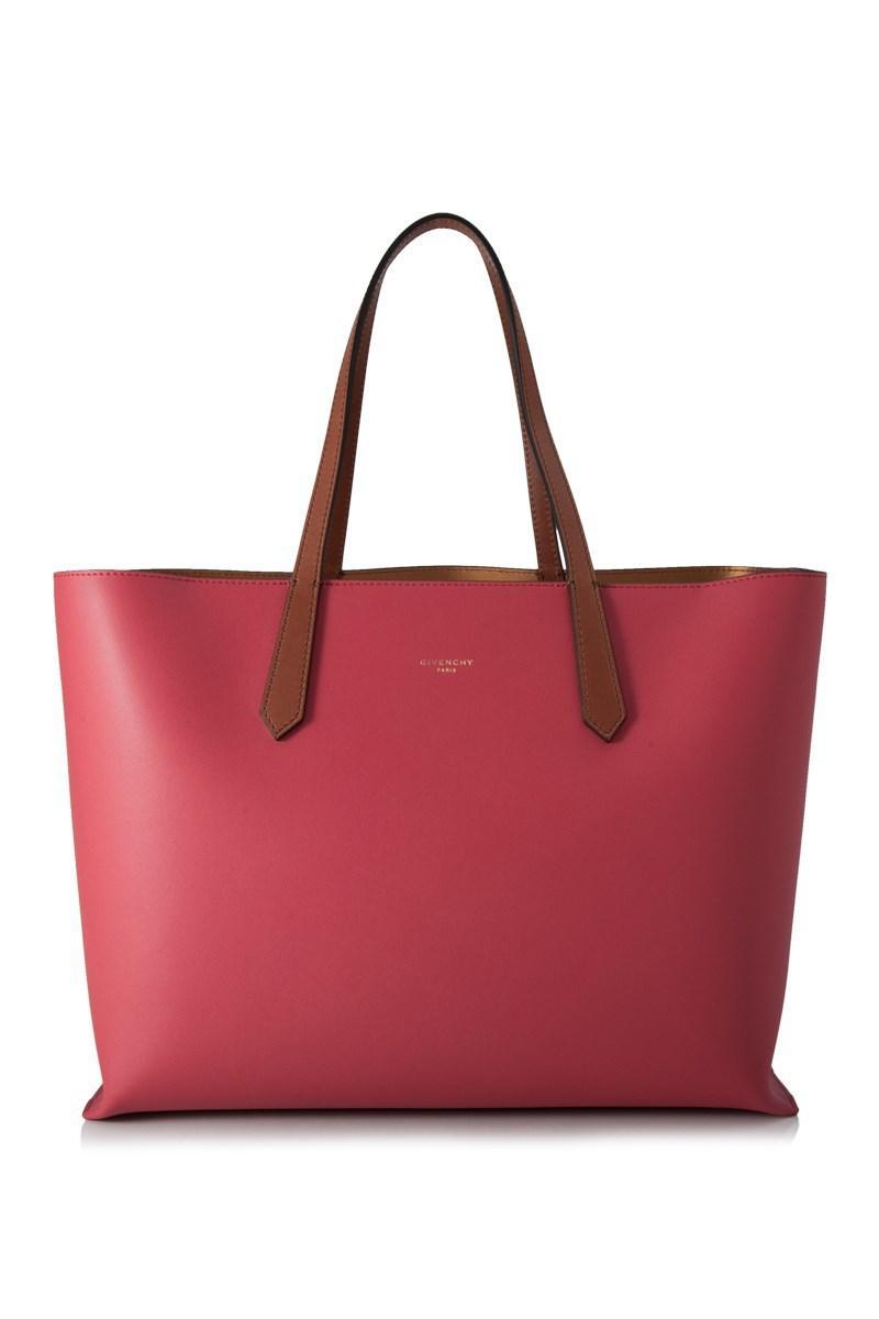 a8a91a4092 Lyst - Givenchy Medium Gv Shopper Bag in Pink
