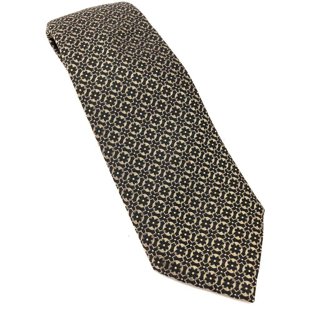 c60a73108ab9 Lyst - Louis Vuitton Cravatt - Monogram Flower Necktie Gold/black ...