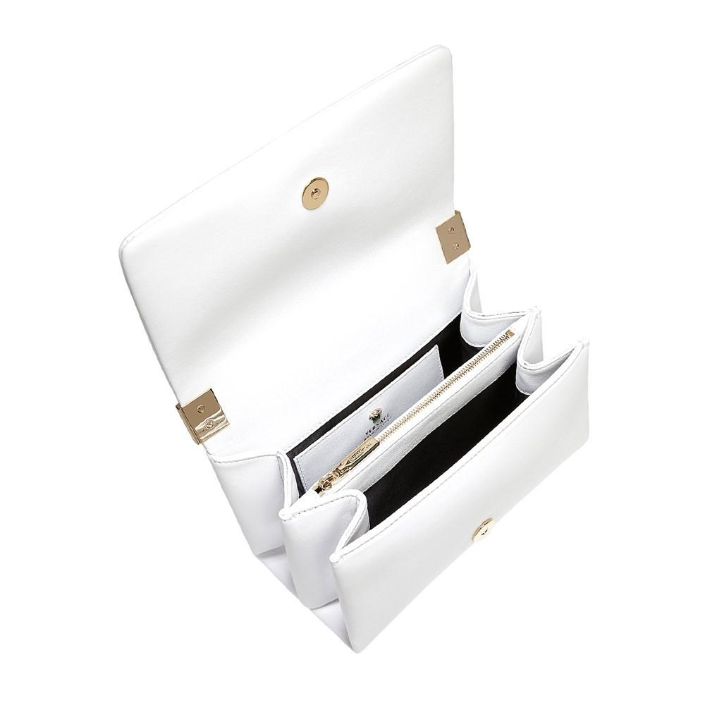 9555c13ea67 Versace - Palazzo Cross-body Bag White - Lyst. View fullscreen