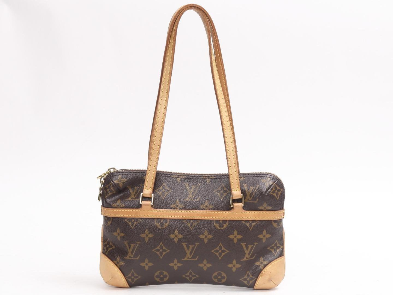 Lyst - Louis Vuitton Mini Coussin Shoulder Flat Bag M51143 Monogram ... 9703e53b5fb24