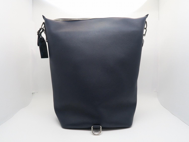 Lyst - Louis Vuitton Calfskin East Side Duffle Shoulder Bag Blue ... 95ef14c031efc